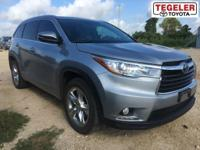 CLEAN ONE OWNER!! 2015 Toyota Highlander Limited