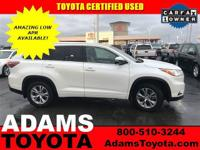 Land a score on this 2015 Toyota Highlander XLE while
