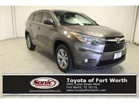 Come see this 2015 Toyota Highlander XLE. Its Automatic