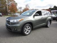 CarFax 1-Owner, This 2015 Toyota Highlander XLE will