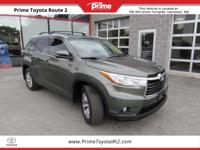 New Price! Certified. 2015 Toyota Highlander XLE V6 in