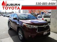 ONE OWNER, LEATHER, AWD! This 2015 Toyota Highlander