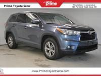 CARFAX One-Owner. Toyota Certified!, 2015 Toyota