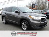 2015 Toyota Highlander XLE V6  Options:  4.154 Axle