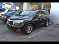Options:  2015 Toyota Highlander Xle|Awd Xle 4Dr