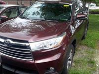 CARFAX One-Owner. Clean CARFAX. Red 2015 Toyota