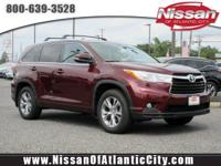 Check out this 2015 Toyota Highlander XLE. Its