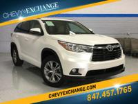 Options:  2015 Toyota Highlander Xle|3.5L V6|Automatic