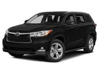 Take command of the road in the 2015 Toyota Highlander!