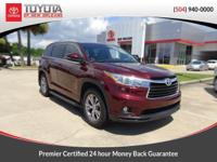 CARFAX One-Owner. Ooh La La Rouge Mica 2015 Toyota