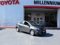Magnetic Gray Metallic 2015 Toyota Prius c One FWD CVT
