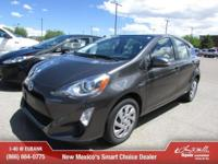 Options:  2015 Toyota Prius C One|One 4Dr