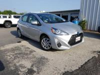 CARFAX One-Owner. Silver 2015 Toyota Prius c Two FWD