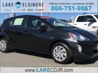 CARFAX One-Owner. CVT Black Sand Pearl 2015 Toyota