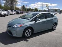 Sea Glass Pearl 2015 Toyota Prius Two FWD CVT 1.8L