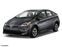 This 2015 Toyota Prius TWO is complete with