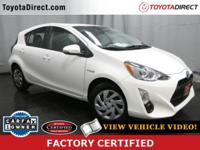 2015 Toyota Prius C Four TOYOTA CERTIFIED! CARFAX