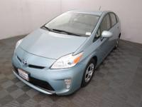 CARFAX One-Owner. Pearl 2015 Toyota Prius Four FWD CVT