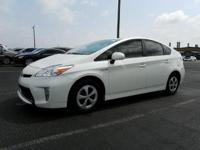 White 2015 Toyota Prius Four FWD CVT 1.8L 4-Cylinder