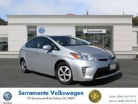 Options:  2015 Toyota Prius Four Hatchback|Silver|4-Cyl
