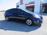 New Price! 2015 Toyota Prius Two 1.8L 4-Cylinder DOHC