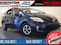 Nautical Blue Metallic and 2015 Toyota Prius. Hybrid!
