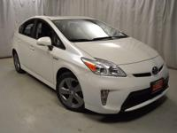Recent Arrival! 2015 Toyota Prius Blizzard Pearl CARFAX
