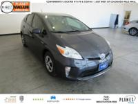 New Price! 2015 Toyota Prius Three 1.8L 4-Cylinder DOHC