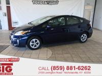 CARFAX One-Owner. Nautical Blue Metallic 2015 Toyota