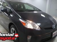 2015 Toyota Prius Three Certified. Odometer is 10696