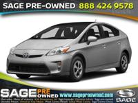 Step into the 2015 Toyota Prius! Feature-packed and