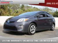 2015 Toyota Prius Three Hybrid, *** 1 FLORIDA OWNER ***