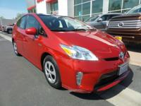 LOW MILES, This 2015 Toyota Prius Three will sell fast