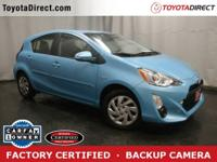 2015 Toyota Prius C Two TOYOTA CERTIFIED! CARFAX