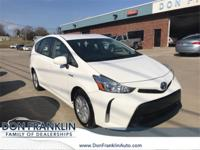 CARFAX One-Owner. Clean CARFAX. White 2015 Toyota Prius