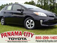 CARFAX One-Owner. Certified. Black 2015 Toyota Prius