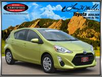 EPA 46 MPG Hwy/53 MPG City! CARFAX 1-Owner, Toyota