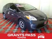 CARFAX One-Owner. Gray 2015 Toyota Prius Two FWD CVT