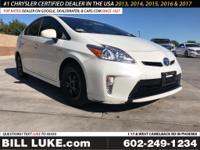 Options:  2015 Toyota Prius Two|White|All Performed