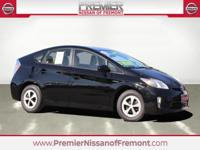 CARFAX One Owner. Clean CARFAX. Black 2015 Toyota Prius