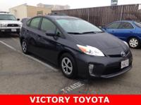 2015 Toyota Prius Two in Charcoal starred featured