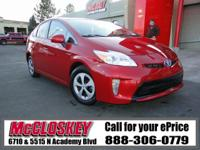 2015 Toyota Prius Two! Save more money at the pump in