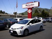 Options:  2015 Toyota Prius V Three|Carfax One-Owner.
