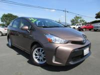 Options:  2015 Toyota Prius V Two|1.8L I4