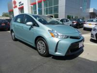 New Arrival! LOW MILES, This 2015 Toyota Prius v Two
