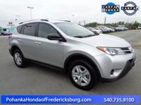 This 2015 Rav4 is a one owner vehicle with a clean