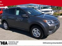 Toyota Certified, CARFAX 1-Owner. EPA 29 MPG Hwy/22 MPG