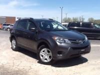 CARFAX One-Owner. Clean CARFAX. 2015 Toyota RAV4 XLE
