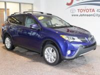 New Price! 2015 Blue Toyota RAV4 CALL OUR FRIENDLY TEAM