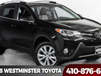 2015 Toyota RAV4 Limited Black Bluetooth, AWD, Black